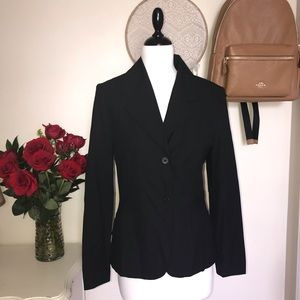 The Limited Stretch Black Blazer